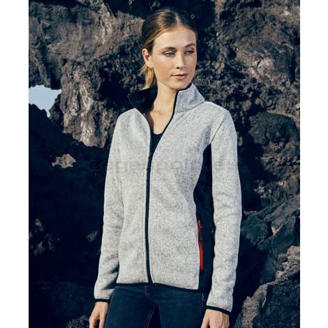 PROMODORO    Ladies' Workwear Knitted Fleece Jacket pulóver