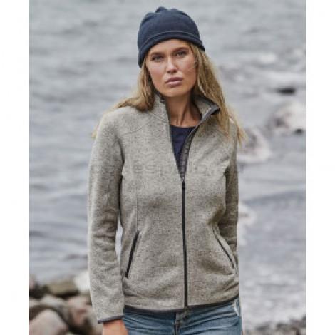 TEE JAYS   Ladies' Knitted Fleece Jacket Pulóver