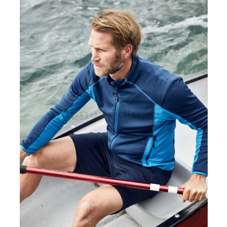 JAMES & NICHOLSON | Men's Stretch Fleece Jacket Pulóver