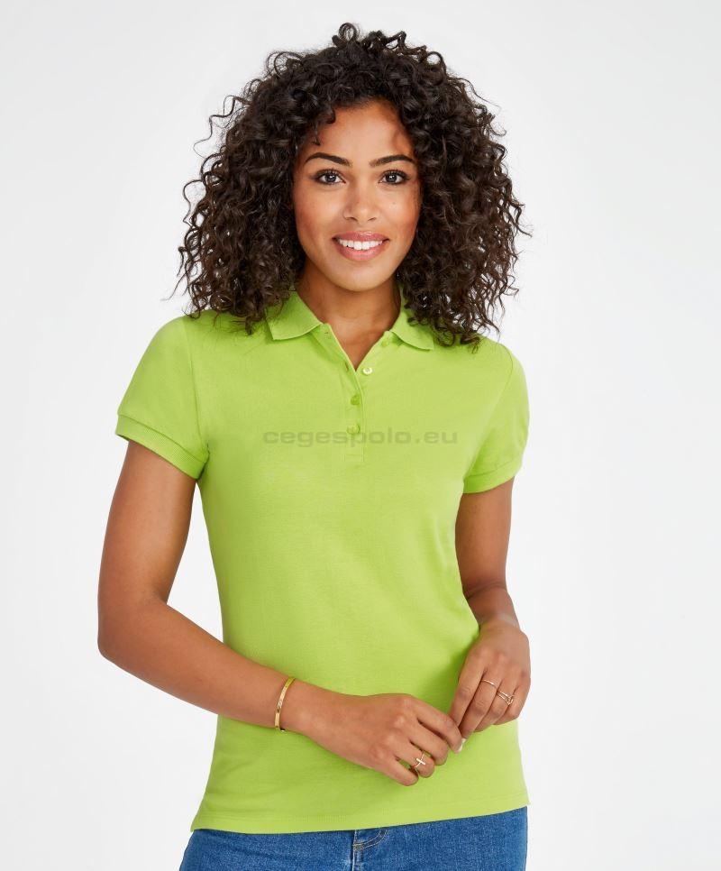 994e15eefe gépi hímzés, céglogó hímzés SOL'S | People női galléros póló #251310