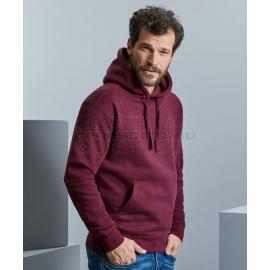 RUSSELL |  Men's Authentic Melange Hooded Sweatshirt pulóver