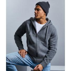 RUSSELL |  Men's Authentic Melange Hooded Sweat Jacket pulóver