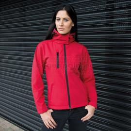 RESULT | Ladies 3-Layer Softshell Hooded Jacket Kabát
