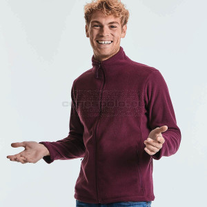 RUSSELL |  Men's Full Zip Outdoor Fleece Polár Pulóver
