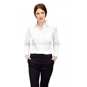 Női hosszú újjú poplin ing