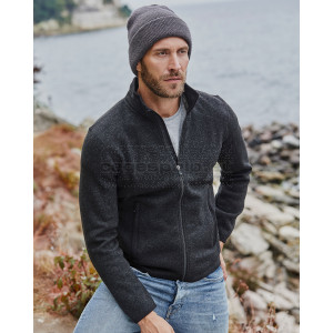 TEE JAYS | Men's Knitted Fleece Jacket Pulóver