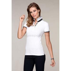 Malfini Collar Up galléros póló női