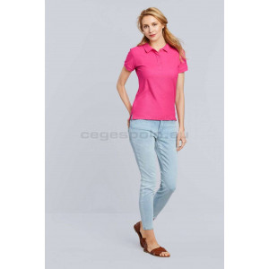 Gildan Premium Cotton Ladies` Double Piqué Polo