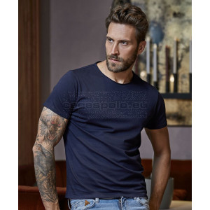 TEE JAYS Men's T-Shirt with Unlined Neckline Póló