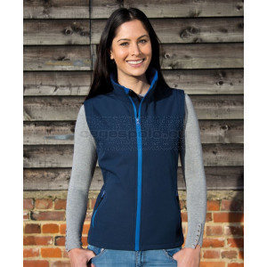 RESULT |  Ladies' 2-Layer Softshell Vest Printable mellény