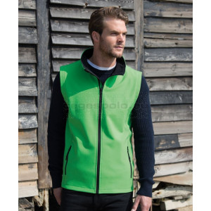 "RESULT |  Men's 2-Layer Softshell Vest ""Printable"" mellény"