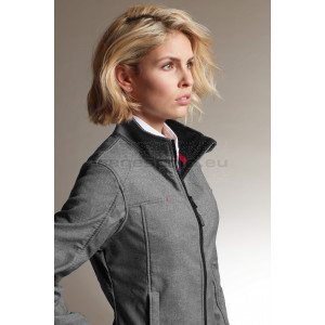 JAMES & NICHOLSON | Ladies' 3-Layer Melange Softshell Jacket Kabát