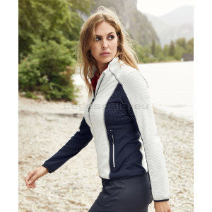 JAMES & NICHOLSON | Ladies' Stretch Fleece Jacket Pulóver
