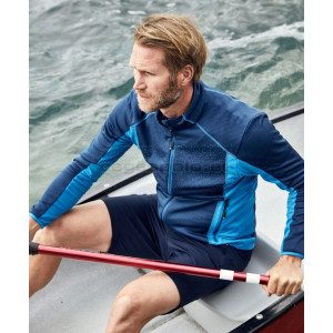 JAMES & NICHOLSON | Men's Stretch Fleece Jacket Pulóver