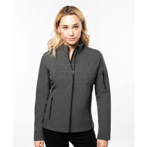 KARIBAN | Ladies 3-Layer Softshell Jacket Kabát