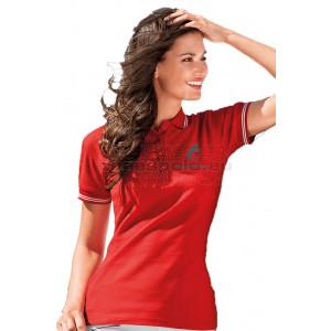 Malfini Urban galléros póló női