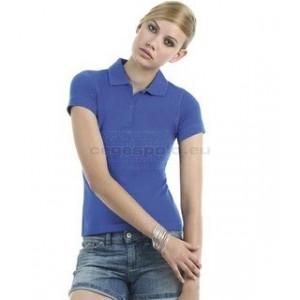 B&C Safran Timeless /women női rövid ujjú galléros póló