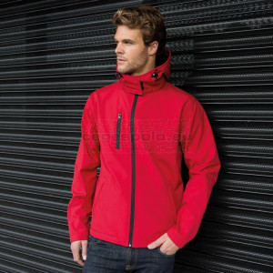 RESULT | Men's 3-Layer Softshell Hooded Jacket Kabát