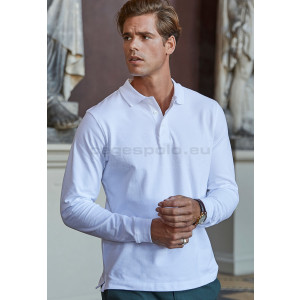 TEE JAYS | Men's Luxury Stretch Piqué Polo long-sleeve Galléros Póló
