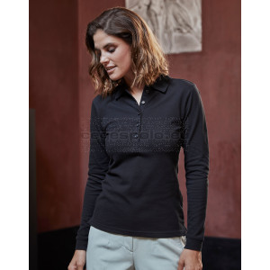 TEE JAYS | Ladies' Luxury Piqué Stretch Polo long-sleeve Galléros Póló