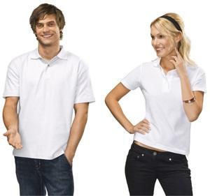 hímzett galléros pólók
