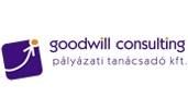 goodwill hímzett logó pólón
